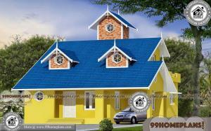 European Home Plans With Photos | Double Story 3D Elevation Designs