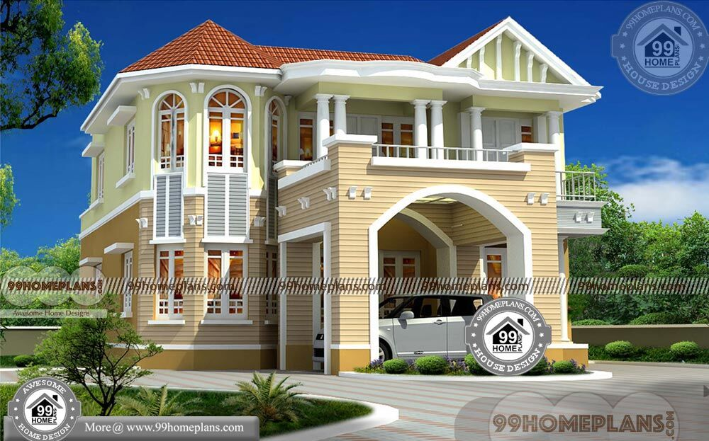 european home plans with photos low budget modern house collection On 99 home design
