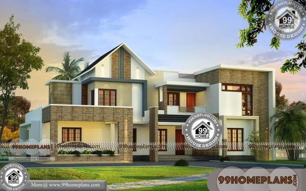 Family House Plans With Double Story Home Floor Plan Idea