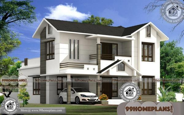 Farmhouse plans with 4 bedrooms with double story modern designs