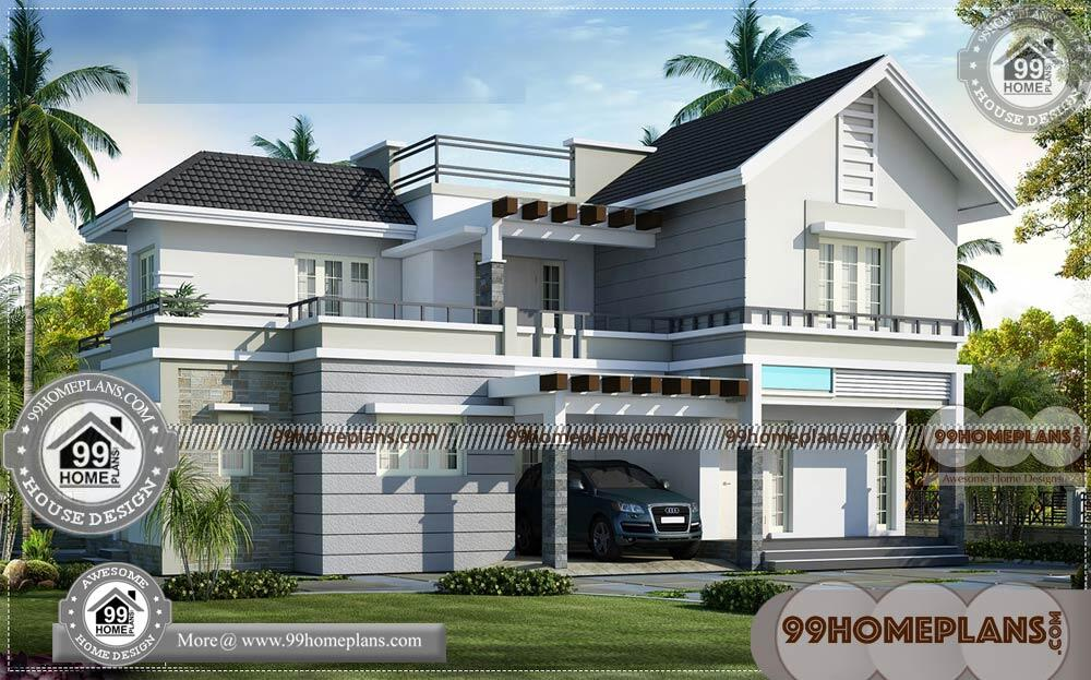 Free home plans indian style two story modern arch type for Free home plans indian style