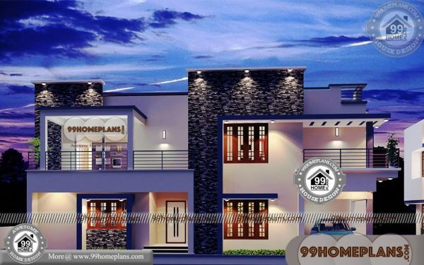 Free modern house plans with two floor rectangular modern collections - Two floor house plans collection ...