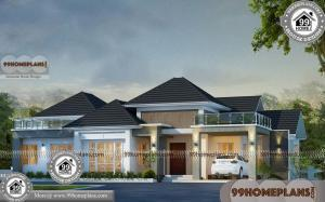 Front Elevation Designs For Ground Floor House | 350+ Modern Collection