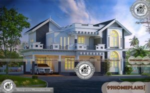 Front Elevation Home Design Ideas | 380+ Modern House Plan Collections
