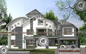 Home Decor Ideas India with Double Story Contemporary Plans & Designs