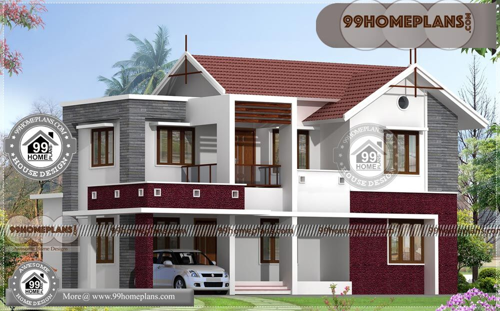 Home Front Design Indian Style With 3D Elevations | 90 House Floor