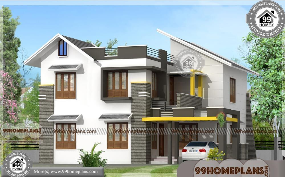 Home Front Design | Kerala 2 Floor 30 Lakh Budget House ...