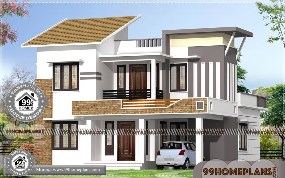 Home Plan 3d Front Elevation Design 57 New Low Cost House Design