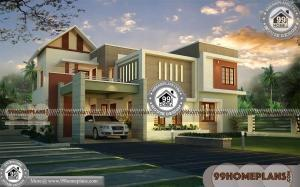House Design Front View | 300+ Modern 2 Story Home & 3D Elevations