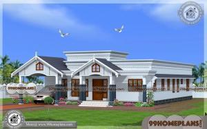 House Elevation Designs For Single Floor Traditional Home Exterior Plans
