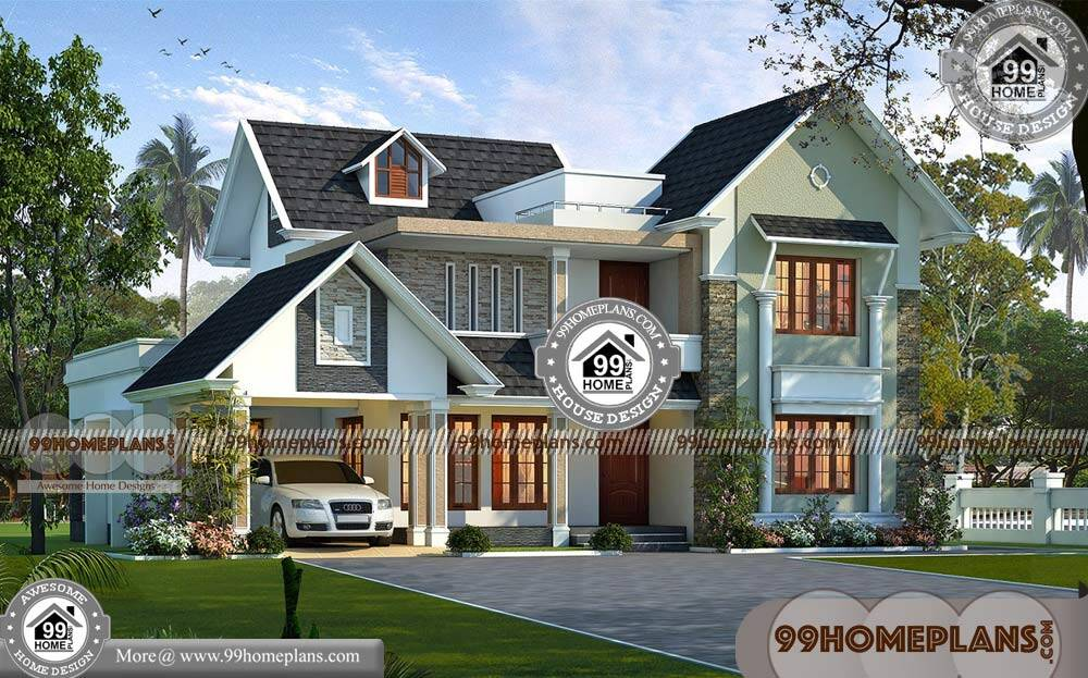 House Front Elevation Designs For Double Floor Best Outstanding Plans