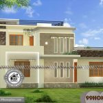 Houses And House Plans with 3d Elevations | Two Story Modern Homes