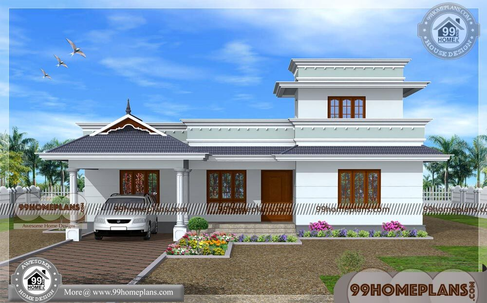 Indian Home Design Single Floor Traditional Homes With