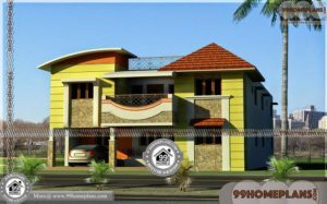 Indian House Architecture Design with Beautiful House Plans Collection