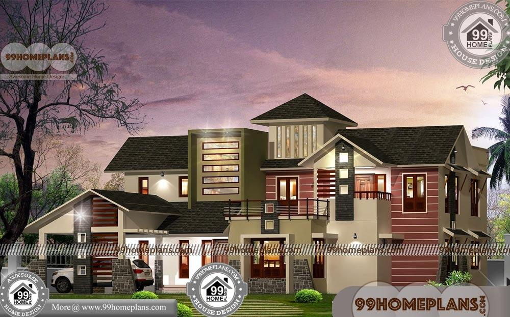 Indian House Elevation with Exterior Plans Online | 590+ Modern Designs