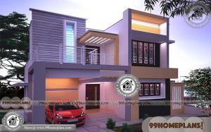 Indian House Exterior Design With 3D Elevations | 700+ Modern Selections