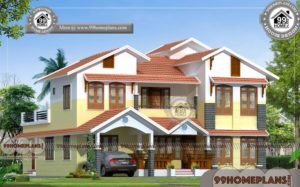 Indian House Front Elevation Designs Photos | 2 Story Traditional Homes