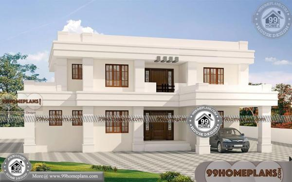 Indian Modern House Designs Double Floor Bungalow Style