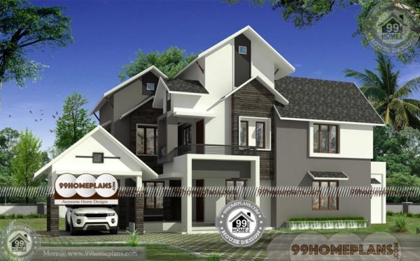 Indian Modern House Plans Designs With Photos 2 Story Traditional Plan