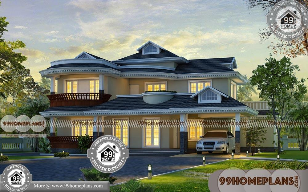Indian modern house plans with photos two story traditional homes for Best indian home design pictures