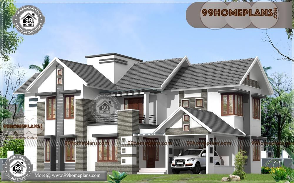 Indian simple house design 2 story contemporary home for Simple indian house design pictures