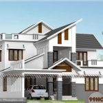 Kerala Home Design | City Style Two Storey House Designs Online Plans