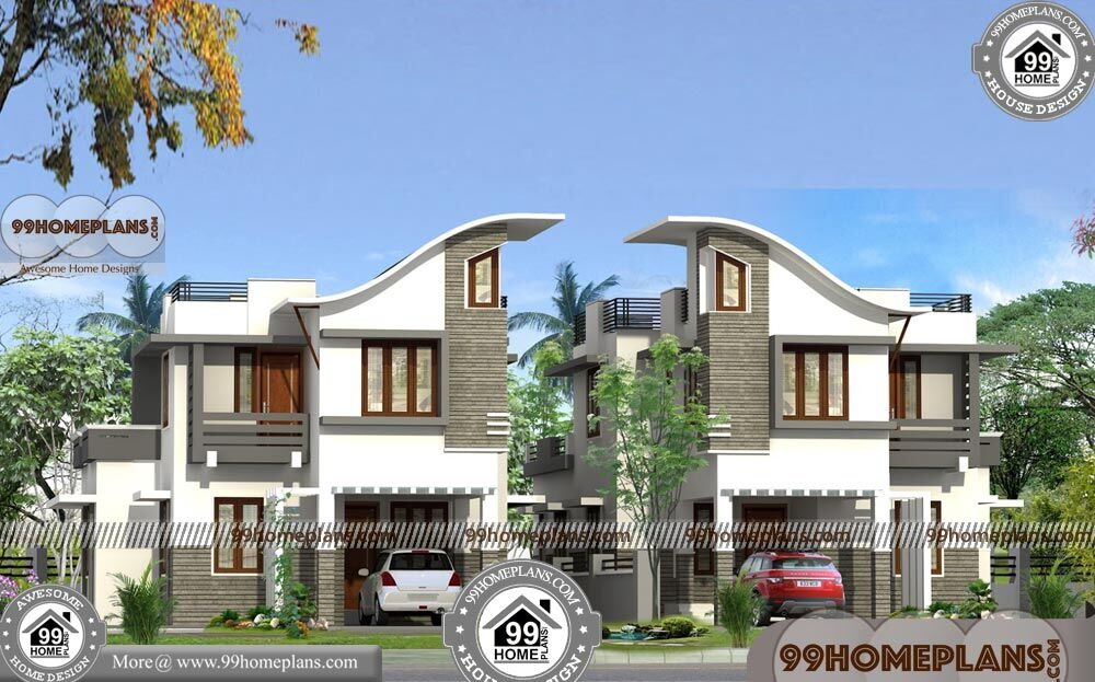 Kerala House Design with Floor Plan 90+ Double Storey Homes Plans
