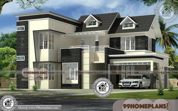 Kerala House Elevation Models With 3D Elevations
