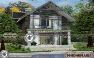 Kerala Style House Plan With Cost | Two Floor Conical Style Home Design