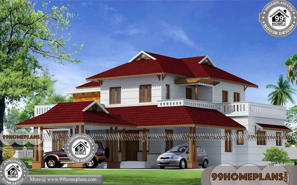 Kerala style nalukettu house plans with 3d elevations for Low cost kerala veedu plans