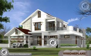 Low Cost 2 Storey House Design | Latest 80 Architectural Plan Collections