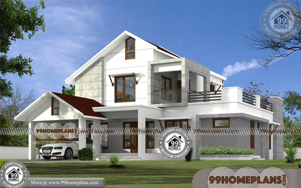 Low Cost Two Storey House Design: Low Cost 2 Storey House Design