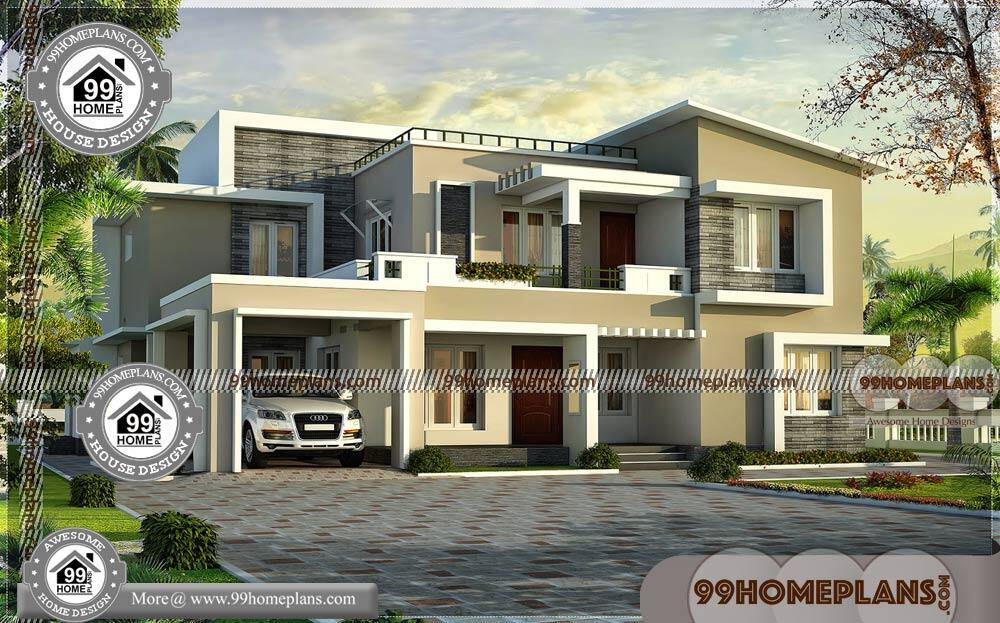 Low Cost Two Storey House Design: Two Story Modern Contemporary