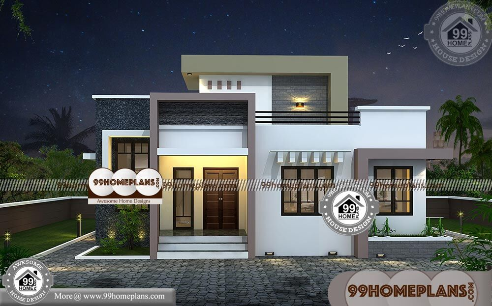 Low Cost Two Storey House Design | Cost Effective 3D ...