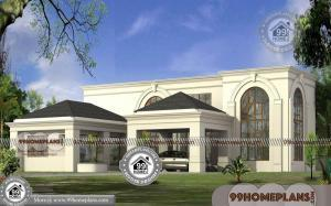 Mediterranean Style House with 3D Elevations | 2 Floor Modern Collection