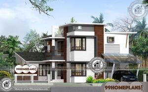 Modern 2 Storey Homes with Contemporary Styles & Vaastu Based House