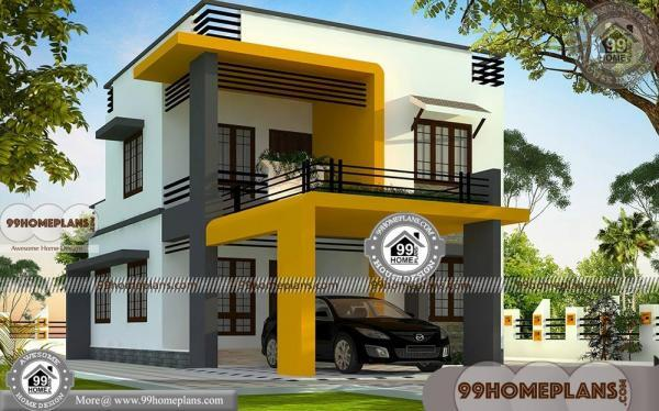 modern box house design collections low budget double floor plans. Black Bedroom Furniture Sets. Home Design Ideas