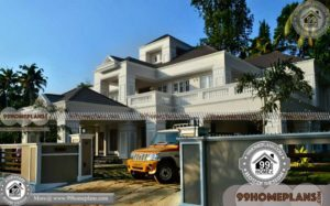 Modern Double Story Houses with Bungalow Design Collections Online