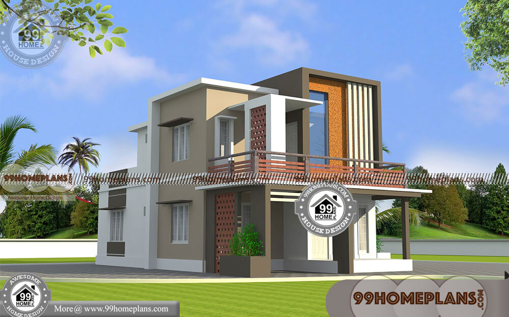 Modern House Box Type Plans & Designs