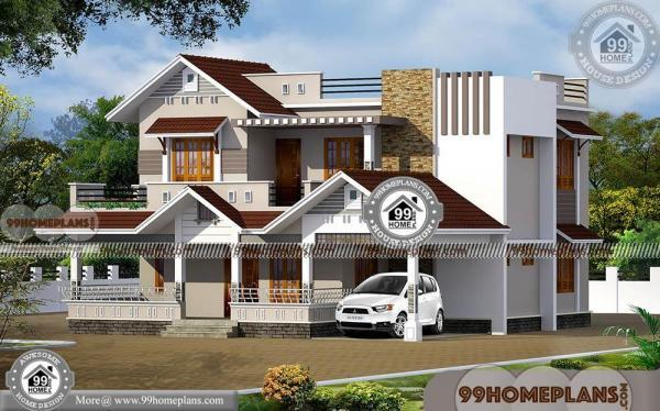 Front Elevation Bath : Modern house front elevation designs low economy home
