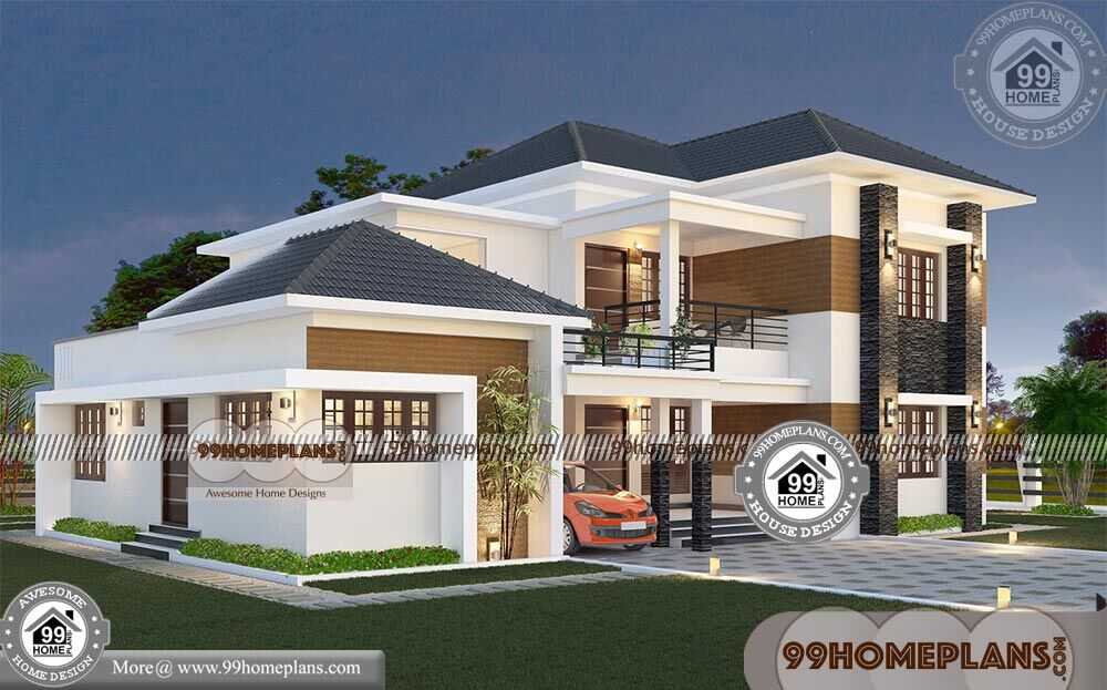 Modern House Plans With Photos With Low Budget 3d Elevation Designs