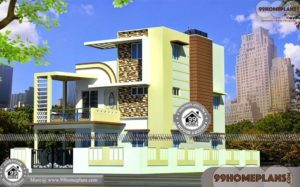 Modern Indian House Plans With Photos | 500+ Modern Home Designs