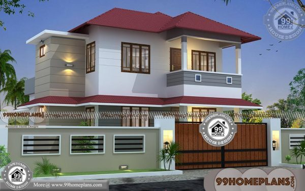 Modern small house design with two level traditional home for 2 level tiny house