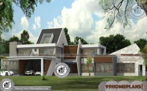 Modern Two Storey House Designs | Best 30+ Contemporary Plan Ideas