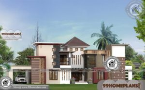 Modern Two Story House Plans | Ultra Modern Contemporary Collections