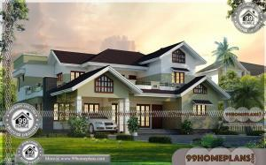 Modern Villa Design Plan | Kerala Traditional House Plans With Photos