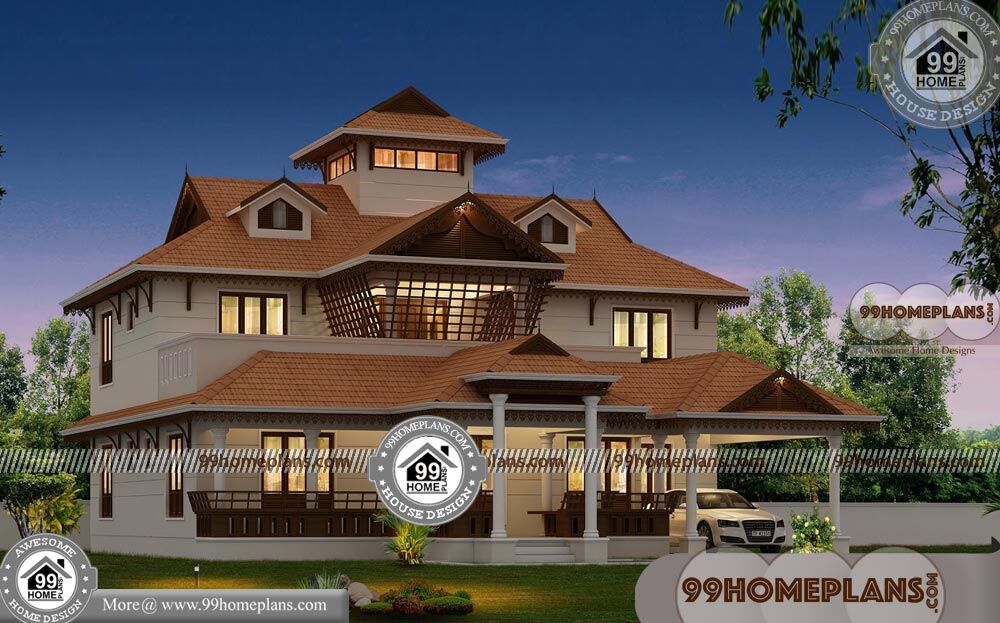 Nalukettu House Plan And Elevation Designs 550
