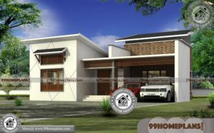 Narrow Lot Homes Single Storey | 3 Bedroom Stylish Exterior Collections