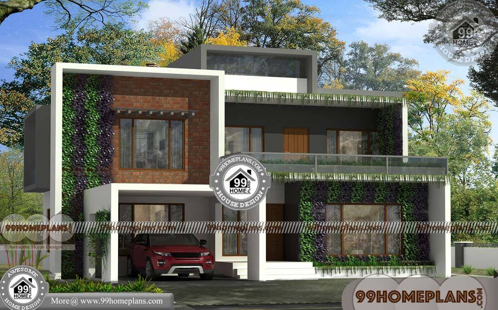New home designs in kerala low estimate 2 floor for House plans for kerala climate