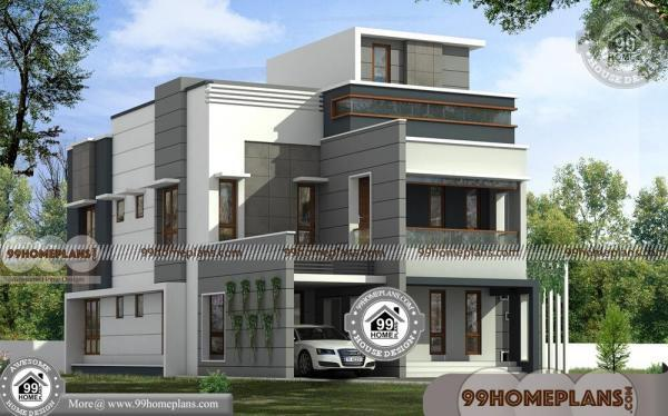 New House Design In Kerala Double Storied Modern Home Collections